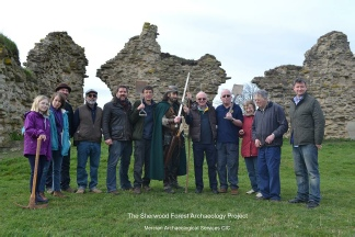 Robin Hood and the Shewood Forest Archaeology Project at King John's Palace