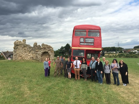 Sherwood Forest Archaeology Project Bus Tour Outreach