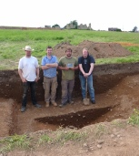 King John's Palace Boundary Ditch Excavation