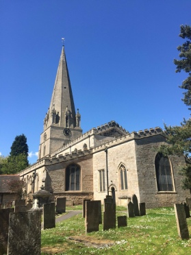 Edwinstowe church aligns on St Edwin's Day