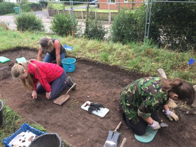 Sherwood Forest Archaeology training field school 2016