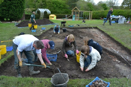 Heath End Community Archaeology Excavation Leicetsershire
