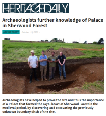 SHerwood Forest in Heritage Daily