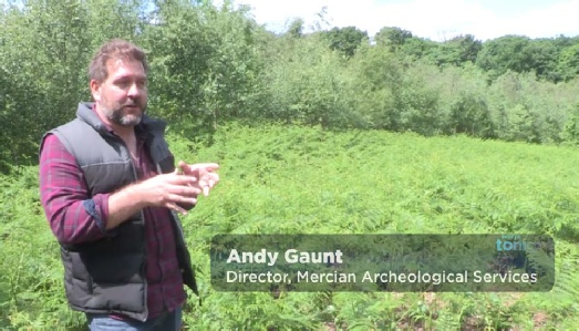 Andy Gaunt Archaeologist TV
