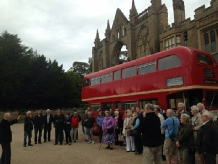 Robin Hood Express Archaeology and History Bus Tour at Newstead Abbey Sherwood Forest