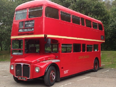Robin Hood Express Archaeology and History Bus Tour at Sherwood Forest National Nature Reserve