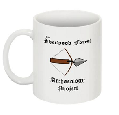 Sherwood Forest Archaeoogy Project Mug