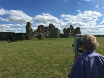Total Station Survey at King John's Palace in Sherwood Forest