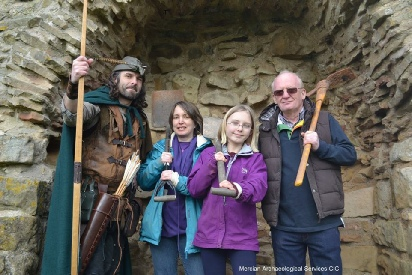 Robin Hood and Sherwood Forest Archaeology Proejct Volunteers