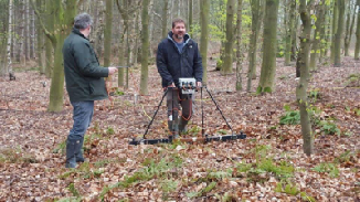 Geophysical Resistance Survey using RM15 Resistance Meter- Mercian Archaeological Services CIC